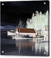 Fishing Boat Dock - Ketchican - Alaska - Photopower 01 Acrylic Print