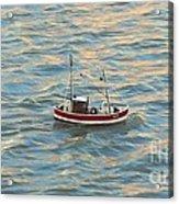 Fishing Boat Jean Acrylic Print