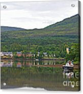 Fishing Boat On Kenmare River West Kerry Acrylic Print