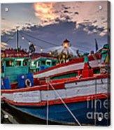 Fishing Boat V2 Acrylic Print