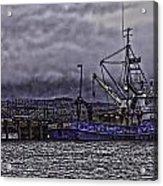 Fishing Boat09 Acrylic Print