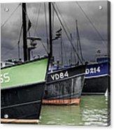 Fishing Boats Acrylic Print