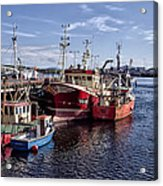 Fishing Boats In Killybegs Donegal Ireland Acrylic Print