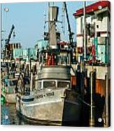 Fishing Boats In Nome Acrylic Print