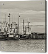 Fishing Boats - Wildwood New Jersey Acrylic Print