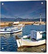 fishing boats 'XIII Acrylic Print