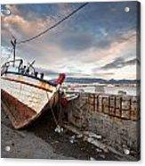 fishing boats 'XVI Acrylic Print