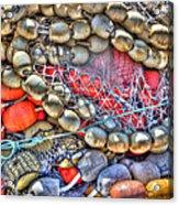 Fishing Bouys Acrylic Print