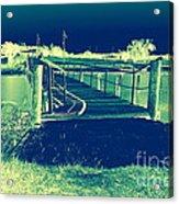 Fishing Dock Acrylic Print