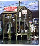 Fishing For Business Acrylic Print