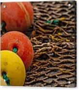 Fishing Gear Abstract Acrylic Print