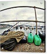 Fishing Gear Acrylic Print