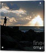 Fishing Is Mediation Acrylic Print