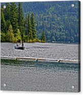 Fishing Lake Merwin Acrylic Print