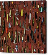 Fishing Lures 01 Acrylic Print