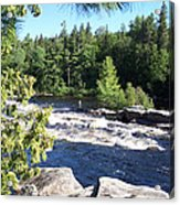 Fishing On The West Branch Acrylic Print