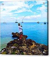 Fishing Paradise Acrylic Print