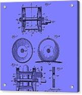 Fishing Reel Patent 1930 Acrylic Print