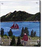 Fishing Schooner Acrylic Print