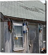 Fishing Shack In Rockport Ma Acrylic Print