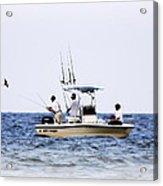 Fishing The Shallows Acrylic Print