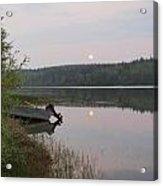 Fishing Tranquility Acrylic Print