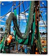 Fishing Vessel Acrylic Print