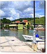 Fishing Village Puerto Rico Acrylic Print