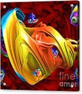 Fishy Fractelus  Acrylic Print