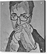 Fist Of Fury Acrylic Print