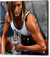 Fitness 27-2 Acrylic Print