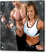 Fitness Couple 17-2 Acrylic Print