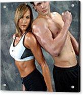 Fitness Couple 43 Acrylic Print