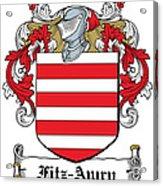 Fitzawry Coat Of Arms Irish Acrylic Print
