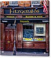 Fitzgeralds Pub - Dublin Ireland Acrylic Print