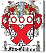 Fitzgibbon Coat Of Arms Irish Acrylic Print