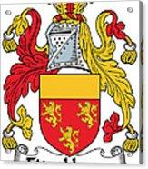 Fitzhenry Coat Of Arms Irish Acrylic Print