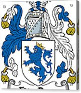 Fitzrery Coat Of Arms Irish Acrylic Print
