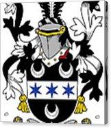 Fitzsimon Coat Of Arms Irish Acrylic Print
