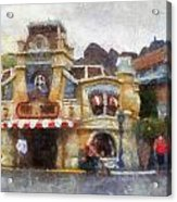 Five And Dime Disneyland Toontown Photo Art 02 Acrylic Print