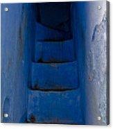 Five Blue Acrylic Print