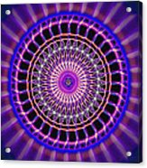 Five Star Gateway Kaleidoscope Acrylic Print