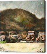 Five Star Motors... Acrylic Print