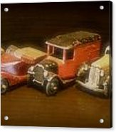 Five Toys From The Forties Acrylic Print