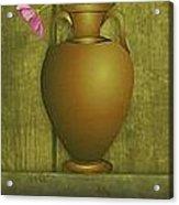 Five Vases One Flower  Acrylic Print
