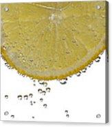 Fizzy Lemon Acrylic Print