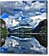 Fjords Of Norway Acrylic Print