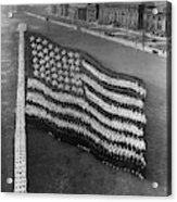 Flag Formation, C1917 Acrylic Print