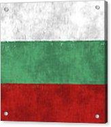 Flag Of Bulgaria Acrylic Print