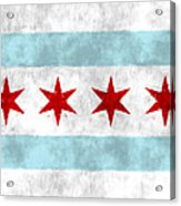 Flag Of Chicago Acrylic Print